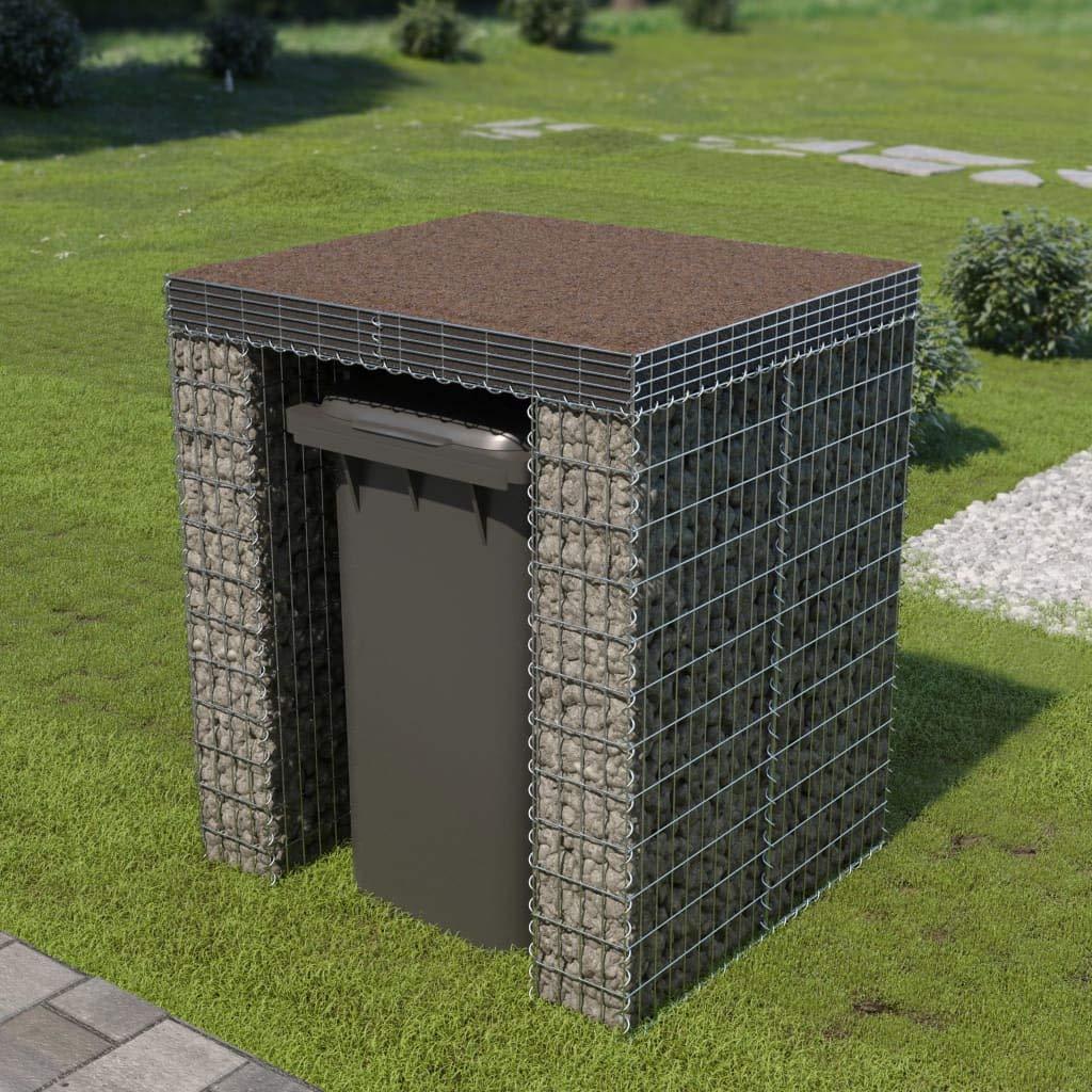 Muro de gaviones para contenedor de Basura Acero 110x100x130cmCasa y jardín Productos del hogar Accesorios para contenedores de residuos Soportes para contenedores de residuos: Amazon.es: Hogar