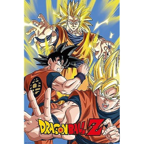 Dragon Ball Z Poster Goku: Amazon.es: Hogar