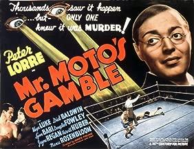 Posterazzi Mr. Moto'S Gamble Peter Lorre 1938 20Th Century Fox Tm & Copyright/Courtesy: Everett Collection Movie Masterprint Poster Print (14 x 11)