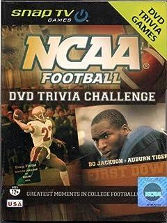 NCAA Football DVD Trivia Challenge Game