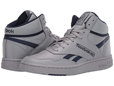 Reebok Lifestyle BB 4600 (Tin Grey/Collegiate Navy/Tin Grey) Shoes