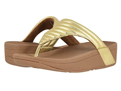 FitFlop Lottie Padded (Artisan Gold/Chipmunk) Women