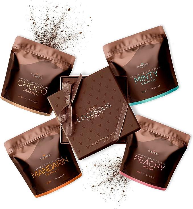 135 opinioni per COCOSOLIS Set Scrub al Caffè – Olii Essenziali Naturali – La Perfetta Idea