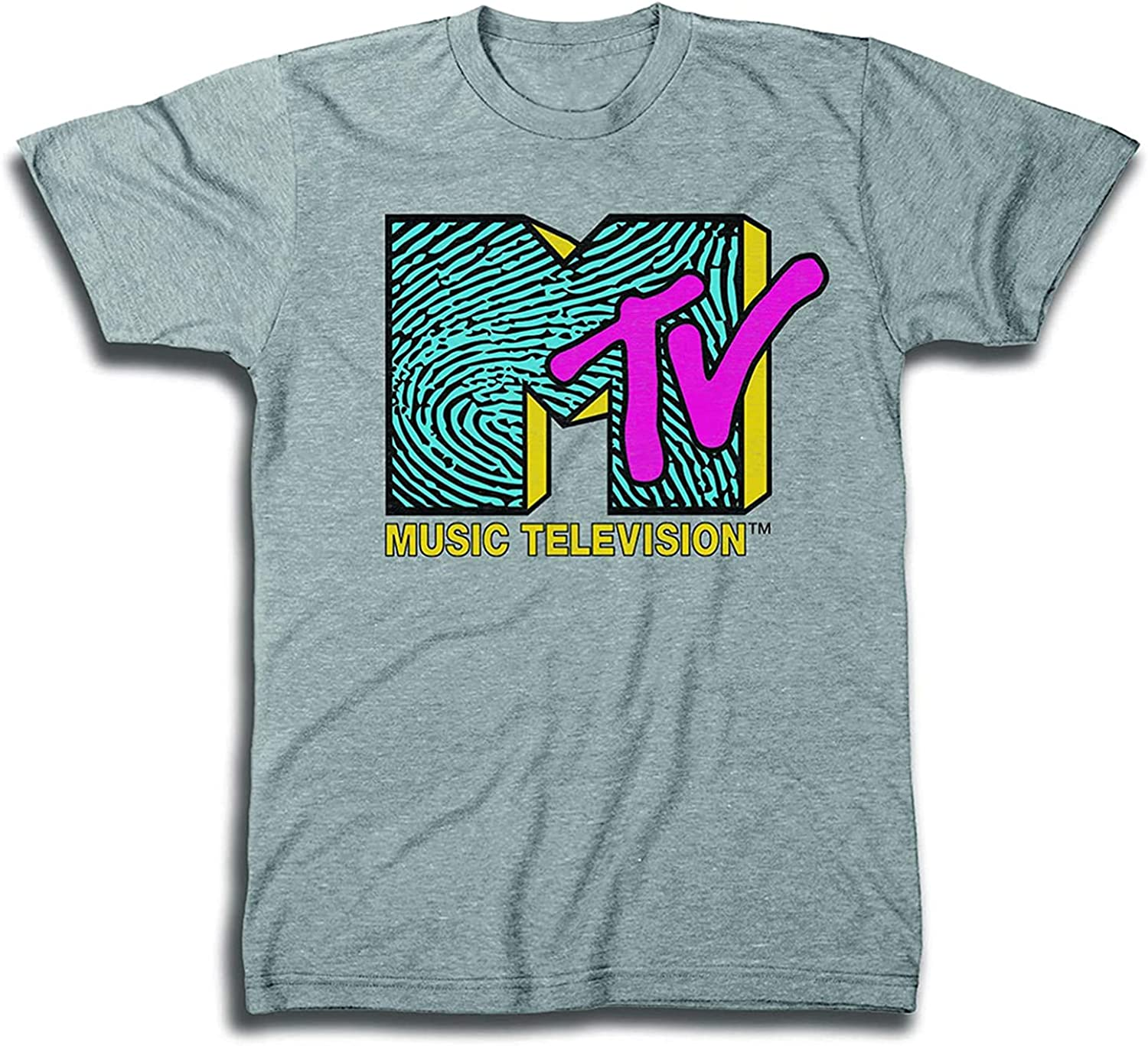 MTV Mens Shirt with Checkerboard - Animer and price revision I #TBT Max 71% OFF Clothing 1980's