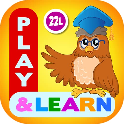 Preschool Learning Kids Games Lite for Toddler, Kindergarten and 1st Grade Girls and Boys: Tracing, Spelling, Reading, Letter Sounds (Names), Phonics, First Words, Shapes, Colors, Pumpkin Puzzles, Memory Games & Coloring Book by Abby Monkey LITE