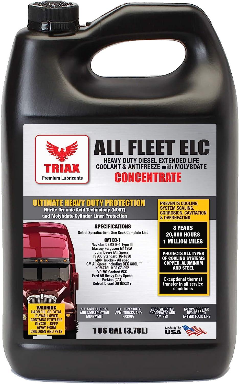 Triax All Fleet ELC Discount mail order Coolant Antifreeze Diesel HD Extreme Over item handling NOAT