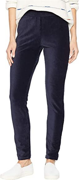 High-Waist Corduroy Leggings