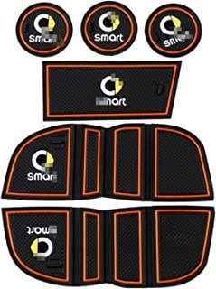 Yctze Car Center Console Portabottiglie Portabottiglie Forte e durevole A4518100370 Adatto per Smart Fortwo W451