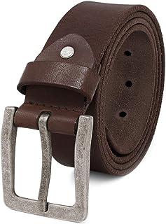 105-135 cm Ledergürtel TOP  Echt Leder Gürtel Herren in Schwarz Braun  Breit