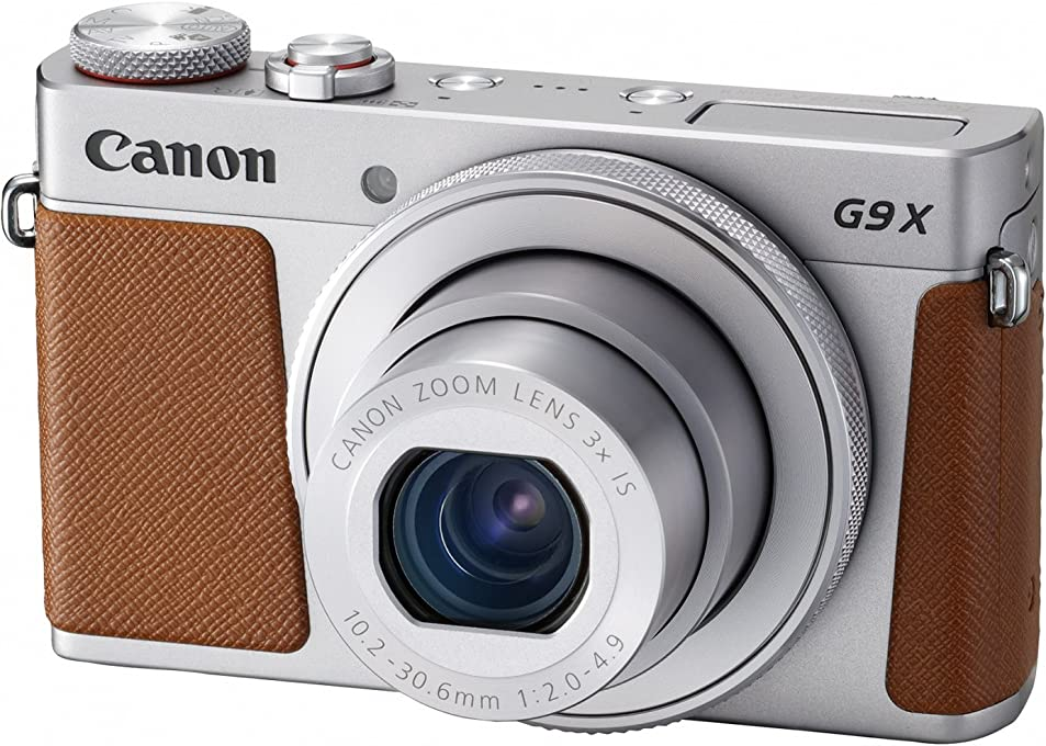 Canon PowerShot G9X Mark II Digital Camera(G9XIIS) 3 Inch display,Silver (Australian warranty)