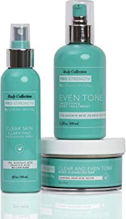 Urban Skin Rx Glow from Head to Toe Body Collection