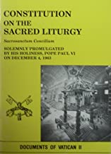 Constitution of the Sacred Liturgy (Documents of Vatican II)