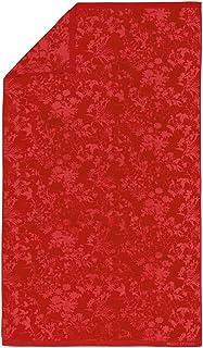 Marc O'Polo Honalu Beach Toallas de baño 100% algodón Terciopelo, Rojo, 100 cm x 180 cm