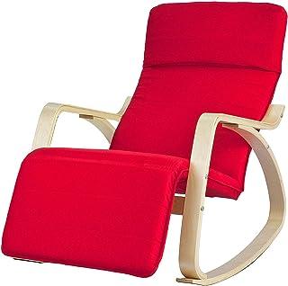 SoBuy Relaksacyjny fotel na biegunach FST16-R