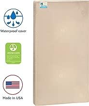 Sealy Baby Soybean Serenity Foam-Core Waterproof Standard Toddler & Baby Crib Mattress - Hypoallergenic Soy Foam, 52
