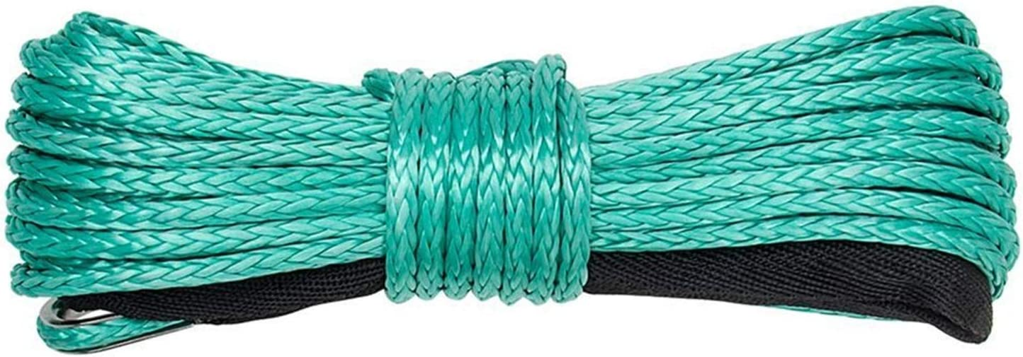 YIBANG-DZSW Synthetic Winch Rope Max 44% OFF Max 64% OFF Strength High 15m Sy