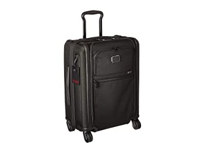 Tumi Alpha 3 Continental Expandable 4 Wheeled Carry-On (Black) Luggage