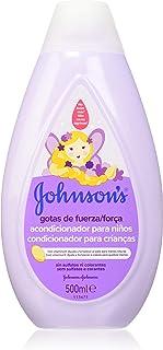 Johnson's Gotas de Fuerza Acondicionador para niños, especialmente diseñado para ayudar a fortalecer el cabello - 3 x 500 ml