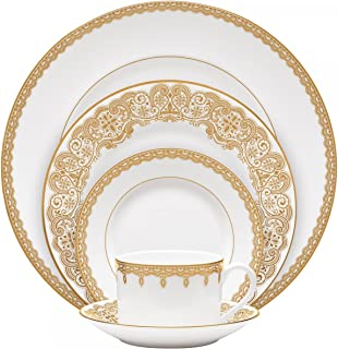 LISMORE GOLD 5 PIECE PLACE SETTING