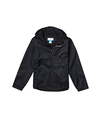 Columbia Kids Rain-Zillatm Jacket (Little Kids/Big Kids) (Black) Girl