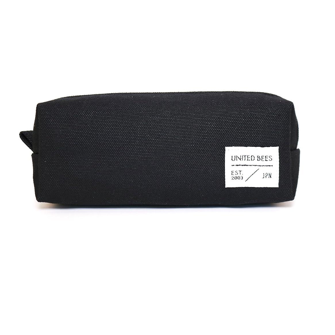 チケットご飯ジャムユナイテッドビーズ ボックスペンケース ブラック UBM-BXPN-01