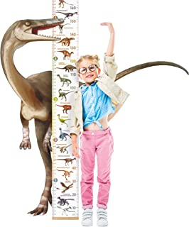 LIFELIKO Personalised Growth Chart for Dinosaur Lovers,...