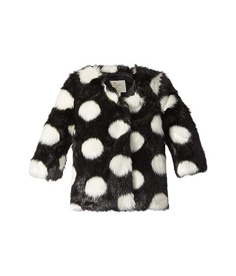 cfd13e1c6925 Kate Spade New York Kids Polka Dot Faux Fur Coat (Infant) at 6pm