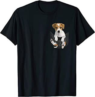 Jack Russell In Pocket hot trend shirt