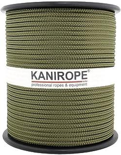 Kanirope PP Seil Polypropylenseil MULTIBRAID 4mm 100m Farbe Oliv 2802 16x geflochten