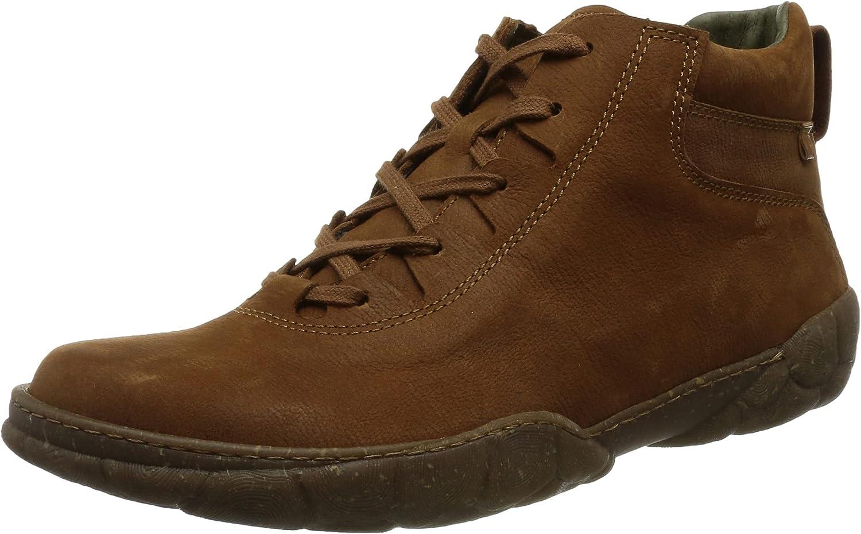 El Naturalista Men's 5076 Oxford Boot, Wood, 8 UK