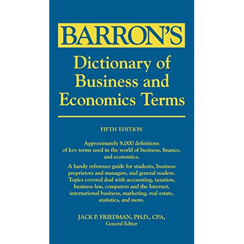 Business Dictionary Amazon Com