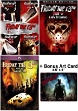 Friday the 13th: Horror Movies 1-6 DVD Collection + Bonus Art Card
