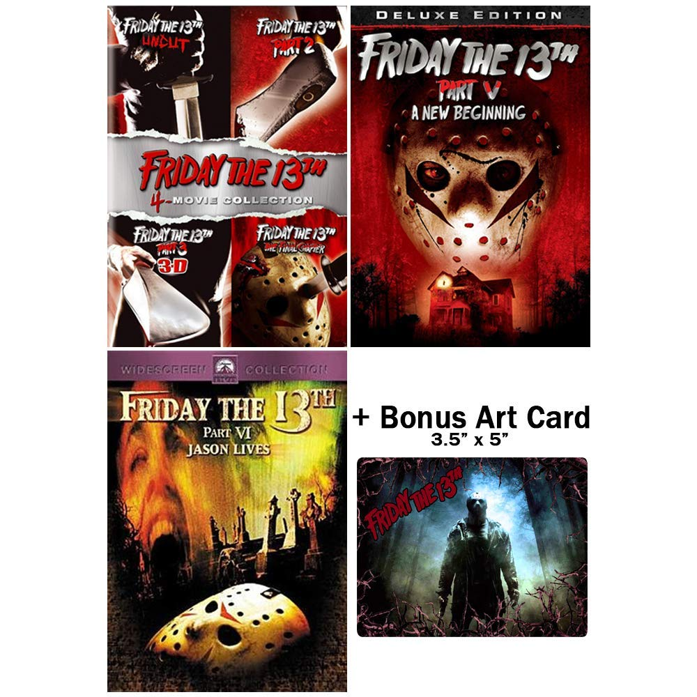 Friday Challenge the lowest price of Japan 13th: Horror Fresno Mall Movies 1-6 Bonus + DVD Collection Ca Art