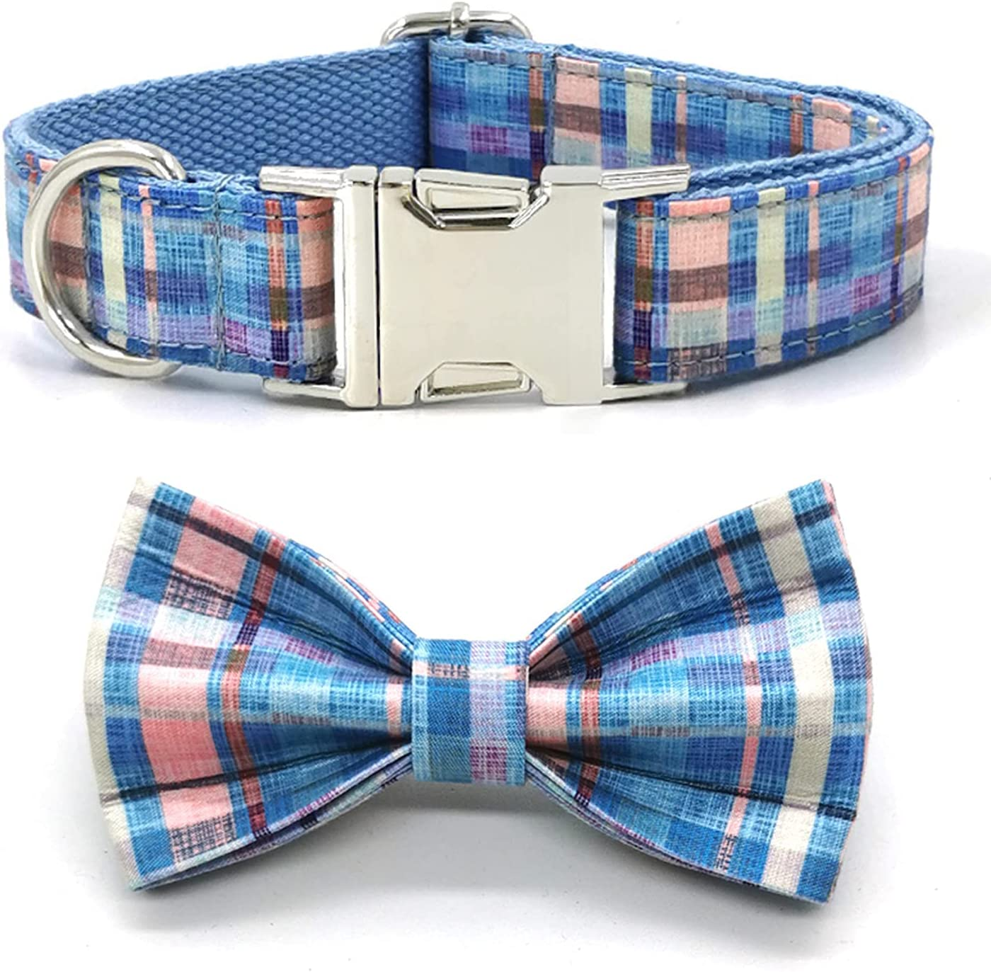 Free shipping New Dog Collar for Large Medium Small Dogs A Tie A surprise price is realized Bow with Heavy Duty