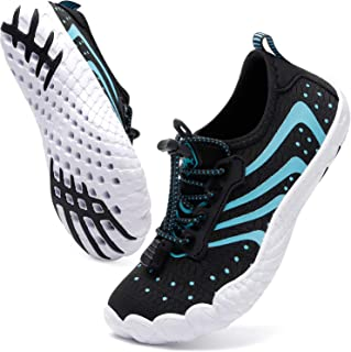 Kid's Sports Water Shoes Quick Dry Barefoot Aqua Shoes (Toddler/Little Kid/Bid Kid)
