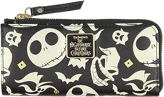 Disney Nightmare Before Christmas Jack Skellington Zero Oogie Boogie Full Zip Wallet