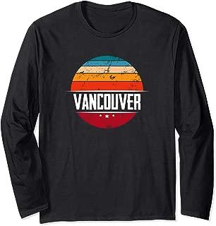 Vintage Vancouver Long Sleeve T-Shirt - Canada Souvenir