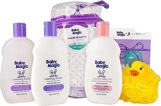 Baby Magic Sweet Dreams In A Bag (1 Ea 9oz Calming Bath, 9oz Calming Lotion, 9oz Creamy Baby Oil, Duck Pouf, Free Dream Ba...
