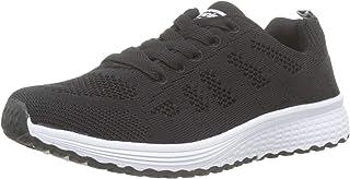 2bc86446 Zapatillas de Deportivos de Running para Mujer Gimnasia Ligero Sneakers  Negro Azul Gris Blanco Verde 35