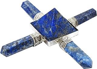 Harmonize Feng Shui Energy Generator Lapis Lazuli Pyramid Spiritual Reiki Healing Crystal