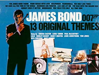 James Bond 007 ~ 13 Original Themes (Original 1983 Liberty Records 551138 LP Vinyl Album NEW Factory Sealed in the Original Shrinkwrap Features 13 Tracks ~ See Seller's Description For Song Title, Movie Song Was From & Year, Plus Timing)