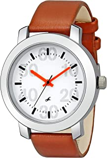 Giomex Track Casual Analogue White Dial Men's Watch