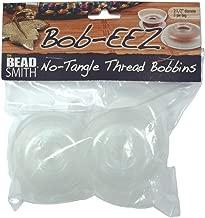 Beadsmith No Tangle Thread Bobbins, 2.5-Inch, 8-Pack