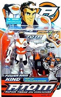 Hasbro Atom Alpha Teens on Machines - Power Ram King Action Figure Includes DVD!