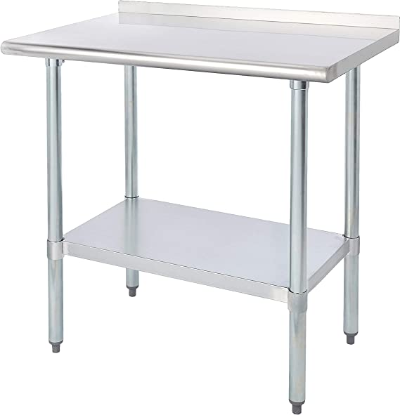 Rockpoint 36 in. x 24 in. with Backsplash Kitchen Table