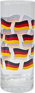Brauns Deuschland waterglas, zwart/rood/goud, 95056
