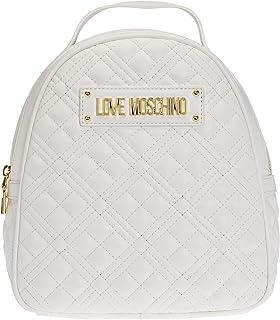 Love Moschino Damen Rucksack AI 021, Weiß, U