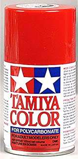 Tamiya America, Inc Polycarbonate PS-2 Red, Spray 100 ml, TAM86002