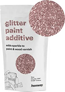 Hemway Glitter Paint Additive Chunky 1/40