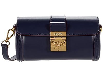 MCM Tracy Crossbody Small (Maritime Blue) Handbags